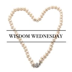 After wearing your gently wipe them with a damp cloth to remove perspiration and other Wednesday Wisdom, Consignment Online, Personal Shopping, Real Estate, Pearls, Real Estates, Beads, Gemstones, Pearl