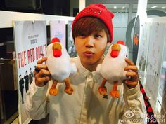 Jimin; This is too cute