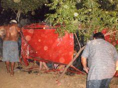 Lamentável: três pessoas morrem em grave acidente no Sertão da Paraíba; vítimas ficaram presas nas ferragens. | Gavião da Paraíba