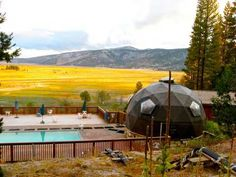 The Mineral Pool at Sierra Hot Springs, California