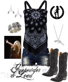 Gunpowder & Lead, created by magiclips38 on Polyvore