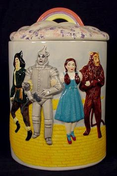 1998 Wizard of Oz Cookie Jar. I have one of these beauties.