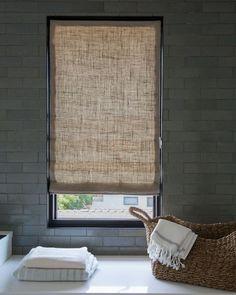 Disc Interiors Flat Roman Fabric Shade - 16461