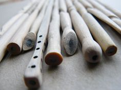 Carved Pencils