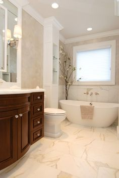 I could just soak for hours in this tub!