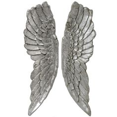 Hill Interiors Antique Silver Large Hanging Angel Wings for sale online Angel Wings Wall Decor, Gold Angel Wings, Wing Wall, Wall Décor, Silver Walls, Hill Interiors, Candle Stand, Hanging Ornaments, Wall Sculptures