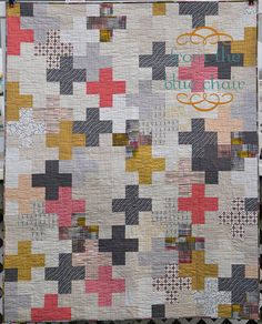 I adore the Maker line from Art Gallery. I only had fat eighths of the prints. Originally, I intended to make a small baby quilt with the fabrics I had on hand, but decided it needed to be bigger. I f