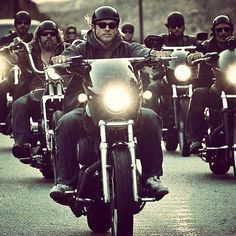JAX TELLER AND CREW SONS OF ANARCHY