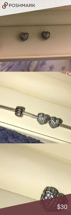 TWO PANDORA CHARMS Selling together for cheap! Both perfect condition. Pandora Jewelry Bracelets
