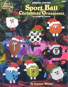 Sport Ball Christmas Ornaments (front cover)