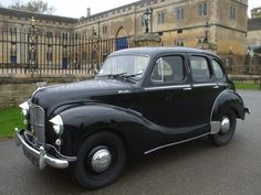 Our Austin Devon 1951 At Burghley House Stamford Classic Cars British, Classic Mini, Austin Cars, Automobile, Morris Minor, British Royal Families, Stamford, Triumph Motorcycles, Car Ford