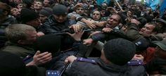 Russia puts military on high alert as Crimea protests leave one man dead Ukraine News, Riot Police, Armed Forces, Acting, Russia, Military, Peace, Music, Sobriety