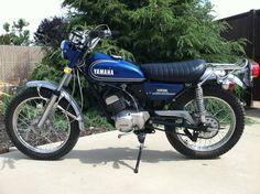 Vintage 1973 Yamaha AT1 enduro