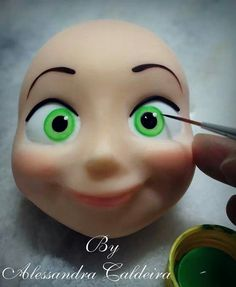 ~ FONDANT FUN~3d flights eyes / face