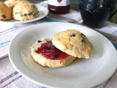 Tea party ready scones that are incredibly easy to make! (and perfect to spread with your favorite jam)