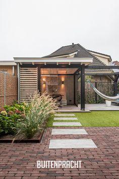 Backyard Gazebo, Pergola Garden, Garden Bar, Home And Garden, Back Garden Design, Garden Landscape Design, Dutch Gardens, Outdoor Patio Designs, Garden Architecture