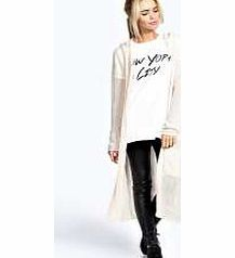 boohoo Lucy Loose Knit Batwing Cardigan - red azz41622 AW is here ...