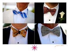 If renting tuxedos for all your bridal party is a stretch of your budget...consider all of them wearing similar suits with matching ties. Neckties and bowties are probably the easiest to find on a budget.  Ebay is a great resource if you have a good lead time for shipping. You can find matching or tonal coordinating ties for all your party for less than $5 each. Really.