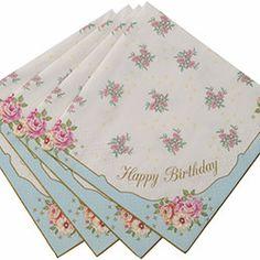 Truly Scrumptious 'Happy Birthday' Napkins