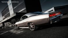 68 Dodge Charger GTS-R Pro Touring grey red black tucked tubbed