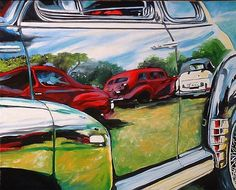 Reflections On A Car Show
