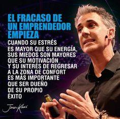 El fracaso de un emprendedor empieza... https://es.pinterest.com/pin/43347215144834203/ #Entrepreneurship