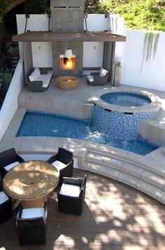 14 Comfortable And Modern Backyard Pool Ideas