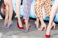 News - Christian Louboutin Online Boutique - Let's Get Racey! Christian Louboutin at Paris Fashion Week Louboutin High Heels, Christian Louboutin Shoes, French Shoes, Louboutin Online, Dream Shoes, Shoe Collection, Designer Shoes, How To Wear, Store Hours