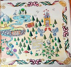 Enchanted Forest Coloring Book By Johanna Basford Colored Kelsey Everett