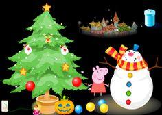 JuegosdePeppa.com - Juego: Decorar Árbol de Navidad Online Juegos Peppa Gratis Online