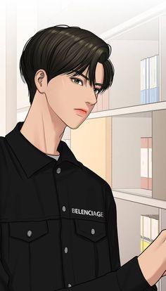 True Beauty Chapter 131 Anime Korea, Korean Anime, Korean Art, Suho, Romantic Anime Couples, Taehyung, Beauty Illustration, Boys Wallpaper, Webtoon Comics