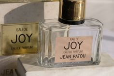 Perfume Bottle Boxed Joy Parfum by Jean Patou Empty