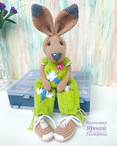 Crafts from napkins with their own hands: a bunny for the contest Spring 2016, pattern toys hare