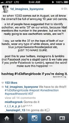 REPINNING THIS AGAIN BECAUSE IM GONNA DO IT AND I NEED TO KNOW WHO MY REAL PEEPS ARE OUT THERE  #1d3dfangirlcode ANY DIRECTIONERS FROM KANSAS OUT THERE?!