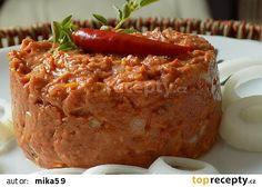 Bulharka se sýrem recept - TopRecepty.cz Meatloaf, Baked Potato, Ham, Banana Bread, French Toast, Food And Drink, Menu, Treats, Cooking