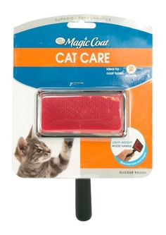 Four Paws Magic Coat Gentle Slicker Wire Brush for Cats | eBay
