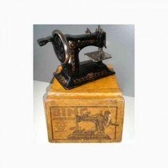 "Bing Tin Child's Sewing Machine marked ""BW"""