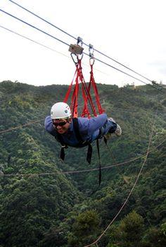 Toro Verdes Zipline Adventure in Puerto Rico