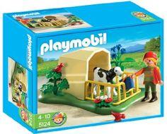 Playmobil 626606 - Granja Ternero Con Refugio: Amazon.es: Juguetes y juegos 6,90