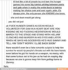 Hunger games and supernatural