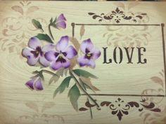 Stencil - Mayumi Takushi - Amor Perfeito