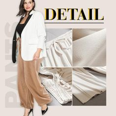 【Mother's Day Promotion-50% OFF】Ice Silk Wide Leg Pants Women – buymorex Silk Pants, Pleated Pants, Ankle Length Pants, Wide Leg Pants, Trendy Fashion, Plus Size Fashion, Comfortable Outfits, Summer Wear, Daily Wear