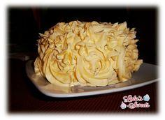 Rose cake de chocolate y plátano