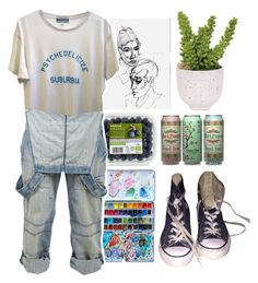 """""""{ Can't Help Falling In Love }"""" by cris-love ❤ liked on Polyvore featuring Wildfox, Crafted, Converse, Lux-Art Silks, women's clothing, women, female, woman, misses and juniors"""