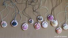 Καλοκαιρινά μενταγιόν με κοχύλια. - To Cafe tis mamas Washer Necklace, Pendant Necklace, Seashell Crafts, Summer Fun, Sea Shells, Jewelry, Jewlery, Bijoux, Conchas De Mar