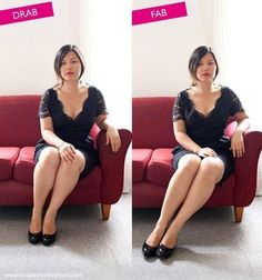 how to pose better - 5 photographer's top tips I honestly don't notice a lot of difference, except that it looks as if she has better sitting upright posture & a bit of a slant in the picture. Poses Photo, Poses For Pictures, Picture Poses, Photo Tips, Photography 101, Photoshop Photography, Photography Tutorials, Portrait Photography, Pose Portrait