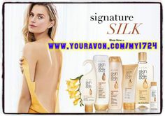 Let Avon Skin So Soft Signature Silk collection helps treat all your skin needs: Treat your body better than ever with Skin So Soft. Boost skin's overall hydration and get beautifully radiant skin. Here you will find all our exclusive Lotions, Oils, Shower Gel, and Body Wash find sales and deals by shopping online at www.youravon.com/my1724 or by clicking on the pin!! I love referrals please share and be enter in my drawing at the end of the month!!