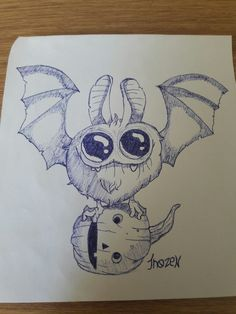 Happy haloween. Also bats are adored by someone I know.