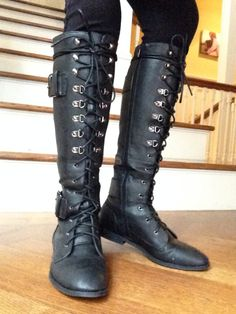 New boots from JustFab!!! I'm totally addicted!!