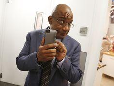 Al Roker takes viewers behind the scenes of @TODAY via Vine app (Photo: Rebecca Davis / TODAY)
